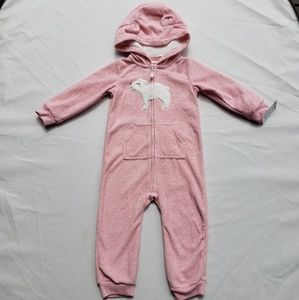Girls Carters Bunting Size 18 Months Polar Bear